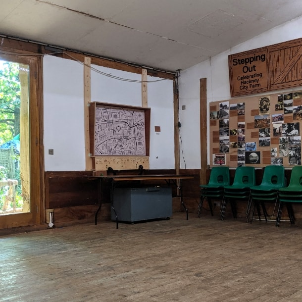 Large indoor room for hire
