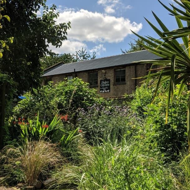 Hackney City Farm Garden